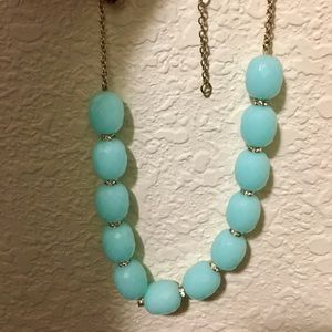 Mint green J. Crew necklace